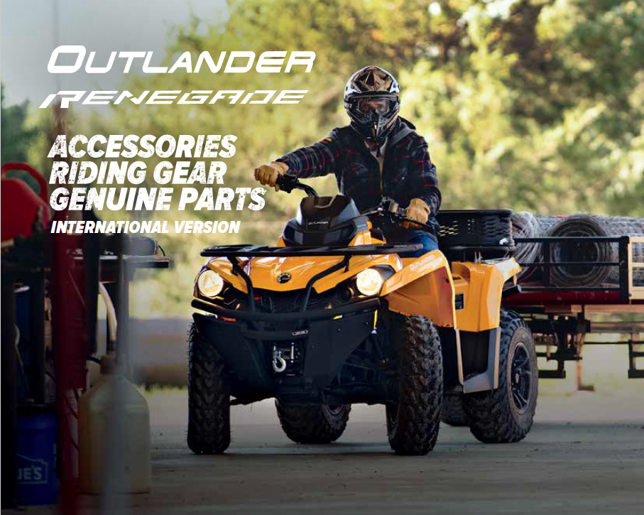 Can-Am Outlander Accessories 2018