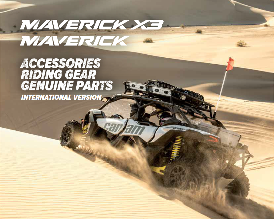 Can-Am Maverick X3 Accessories 2018